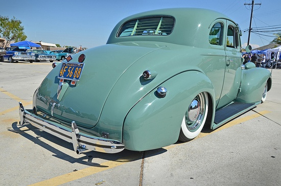 39 Chevy - THE SHAKE DOWN Car Show by KID DEUCE, via Flickr