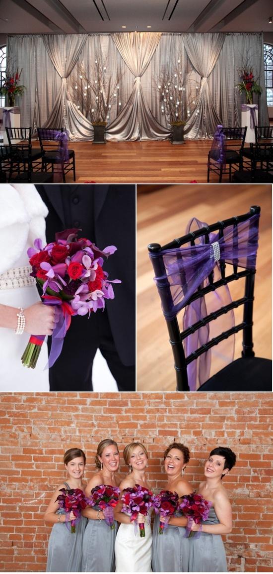 Purple wedding!