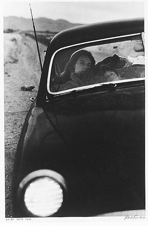 U.S. 90, en route to Del Rio, Texas, 1956 •  Robert Frank