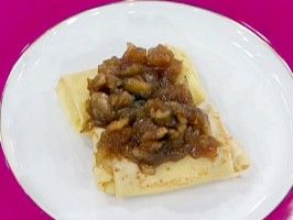 Sweet Cheese Blintzes with Apple Butter : Recipes : Cooking Channel...Emeril Lagasse recipe