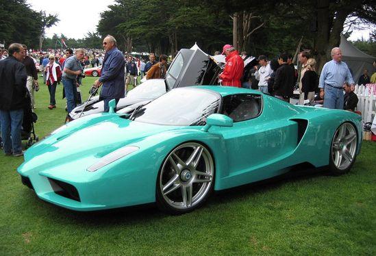 Turquoise Ferrari ~ ?