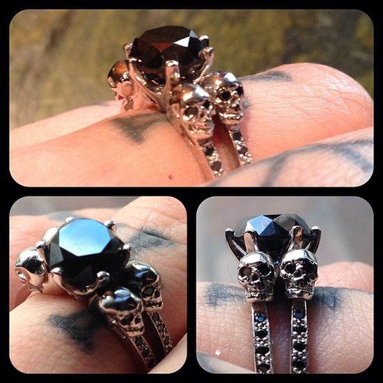Kat Von D's engagement ring pretty cool