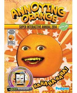 Annoying Orange Annual 2014.