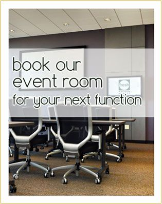 Planning a #Holiday event? Our event room is waiting!
