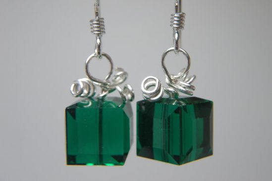 TODAY IS A GIFT Christmas Jewelry  Holiday Earrings  by LunamagicK, $12.00
