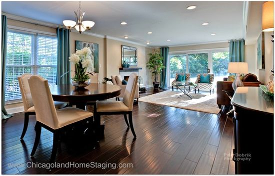 gorgeous flooring and modern sophisticated design