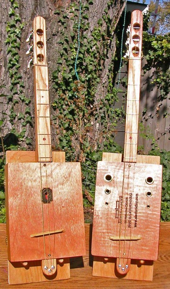 Blues-cimer - Handmade Music #handmade bow #radiohead creep #handmade handgun pos