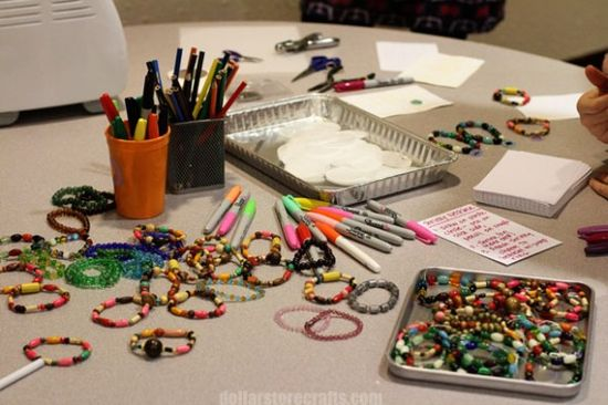 Girl crafts - great for girl scouts, birthday parties, girls night out, etc.
