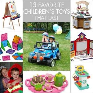 13 Favorite Children's Toys That Last