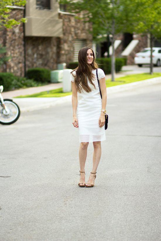 DIY lace dress tutorial