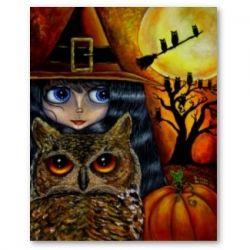 The Halloween Owl