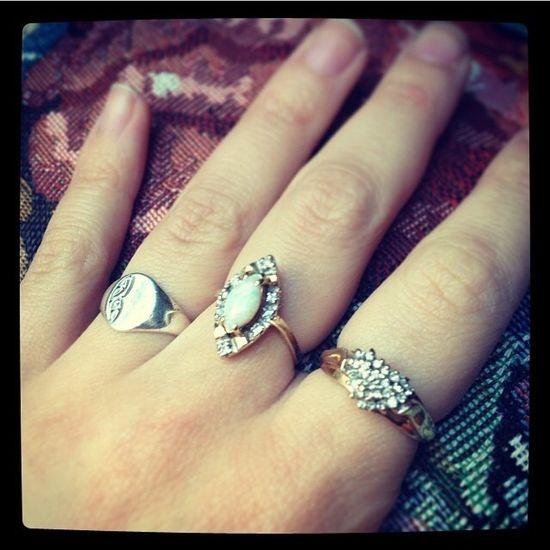 Stone Fox Bride Rings