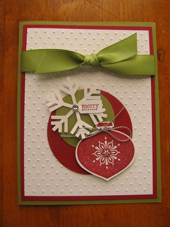 Handmade Christmas Cards. - love.