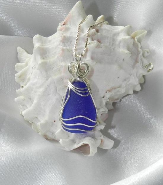sea glass jewelry www.artisanseagla...