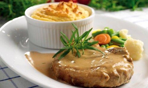 Crock Pot Pork Chops and Gravy