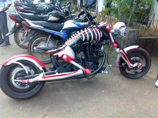 That is my kind of motorbike!