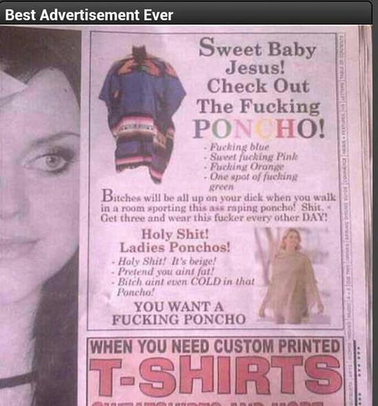 Funny ad...