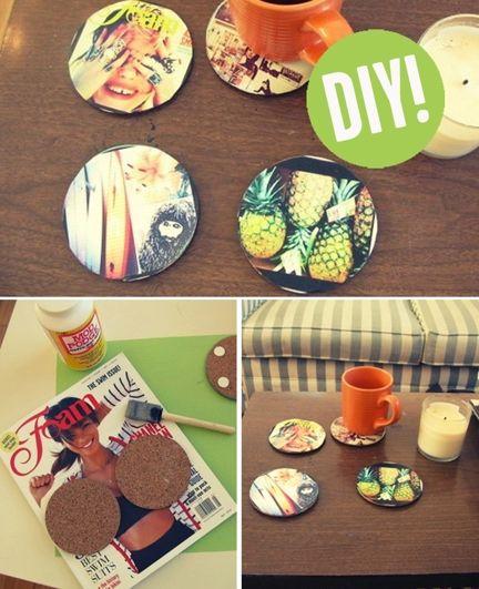 Instagram Coasters #DIY