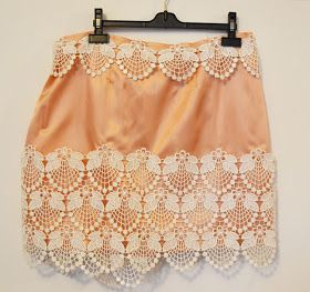 A Matter Of Style: DIY Fashion: Doily lace skirt DIY