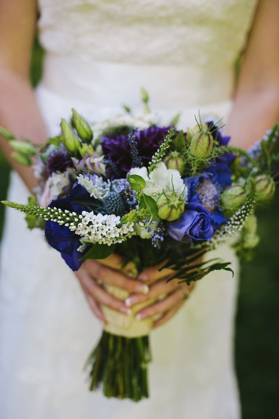 Pacific Northwest inspired bridal bouquet by Summersweet Design, wedding photo by Aaron Courter Photography