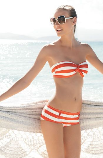 Marc Jacobs striped bikini. Fresh!
