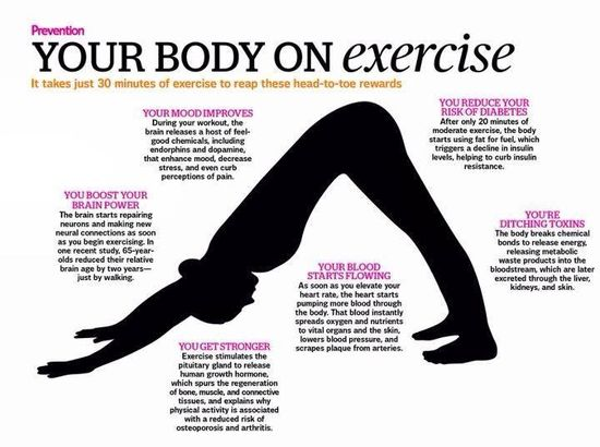 Your body on exercise