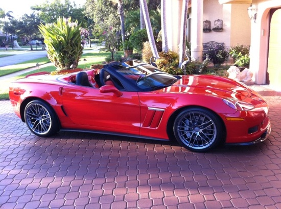 Supercharged 2011 Corvette