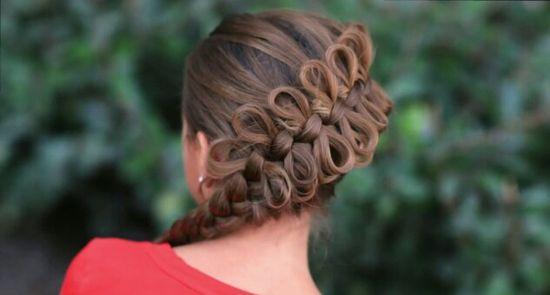 Diagonal Bow braid