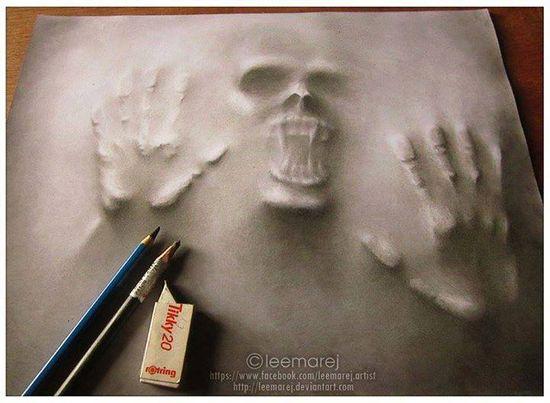 """Set Me Free"", Amazing 3D art by Jerameel Lu"