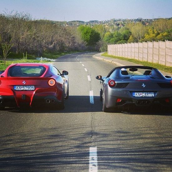 Ready....Steady.....GO!! For the chance to win the ultimate supercar driving experience like these #ferraris' then click on this image through to our webpage!