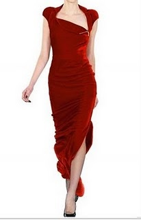 Now THAT is a red dress!