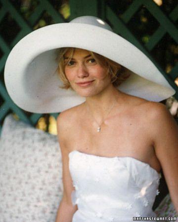 wedding hat!