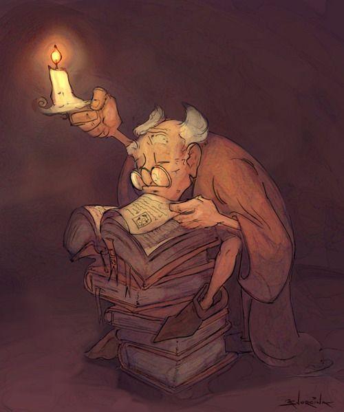 vistasoftheworld: Bibliothécaire par ~ samwyse
