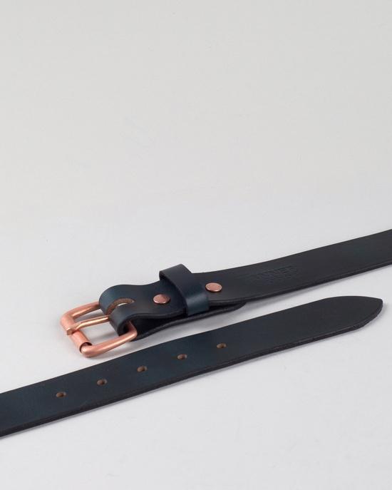 indigo/copper belt by Tanner Goods