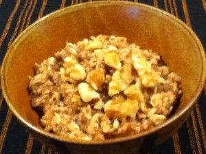 High Fiber Do-it-yourself oatmeal.  =)