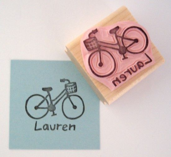 adorable hand carved stamps!