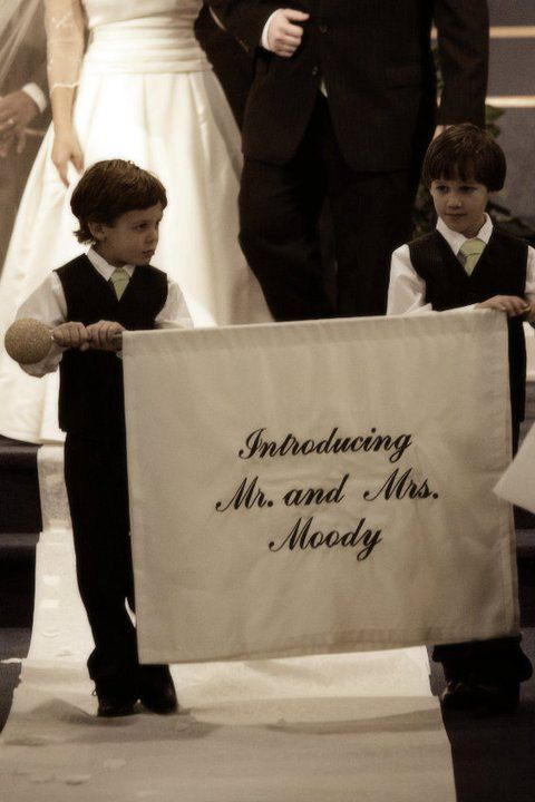 I want to do this for my wedding