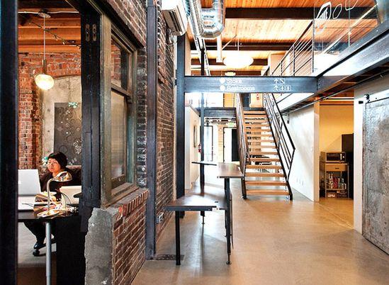 Turnstyle office by Graham Baba Architects, Seattle, Washington