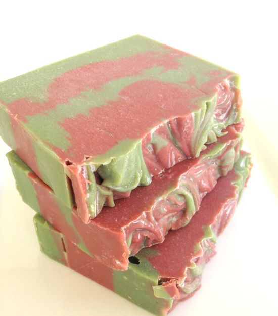 Berry Christmas Cold Process Soap
