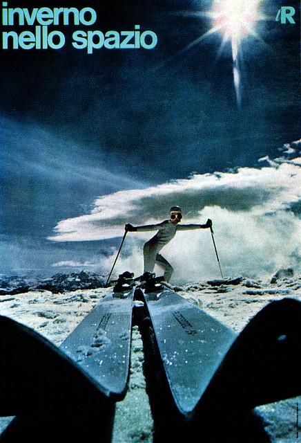 Italian 60s ski poster mwah!