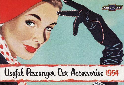Useful Passenger Car Accessories - 1954 Chevrolet