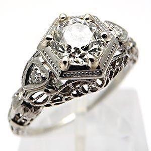 antique engagement #Romantic Elegance Collections
