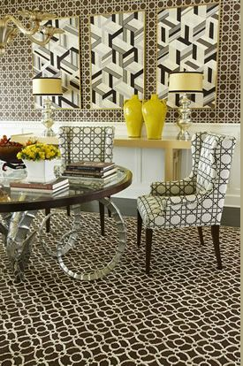 Dining room - pattern play