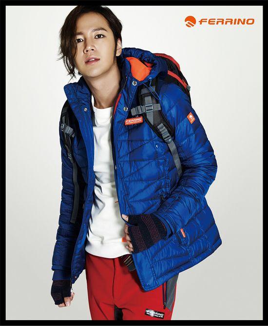 JANG GEUN SEOK IN FERRINO F/W 2013 ADS