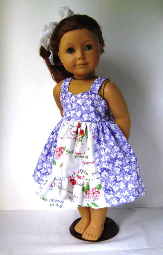 American Girl Doll Dress. $23.00, via Etsy.