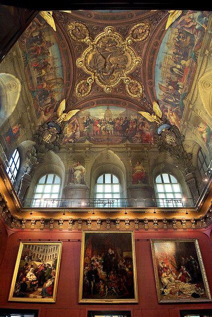 Techo del Louvre