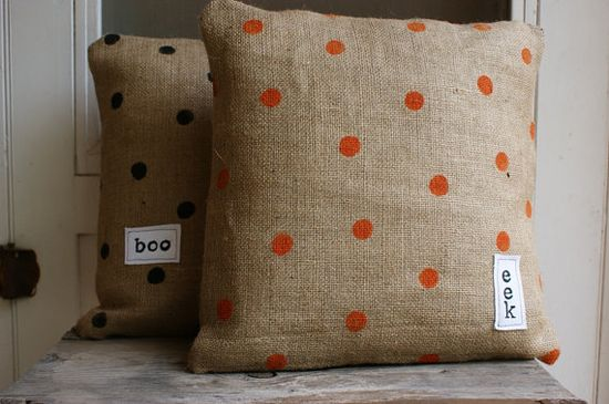 Halloween pillows!