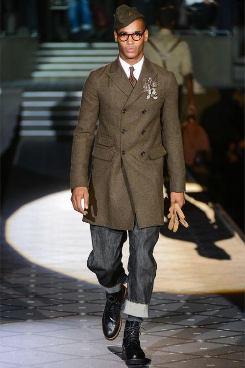 Men's fashion 2013. Military-esque.
