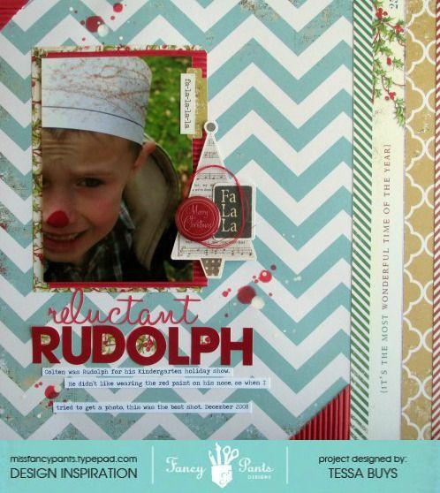 Reluctant Rudolph - Scrapbook.com