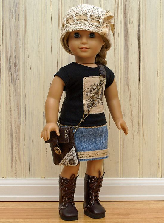 "Afternoon in Paris-Made to fit 18"" American Girl Doll"